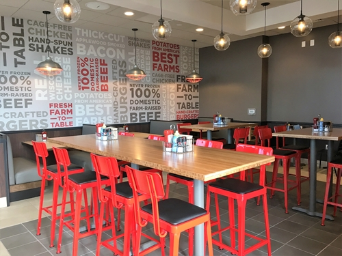 Johnny Rockets Opens Its First Drive-Thru Restaurant in Mooresville, NC
