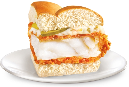 Long John Silver's Offers Free Samples of Coastal Cod Sandwich on Friday