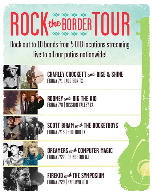 On the Border Mexican Grill & Cantina Rocks the Border with Live Music Series