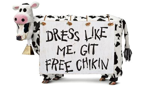 Chick-fil-A Offers FREE Food to Cow-Clad Customers on Cow Appreciation Day, July 12