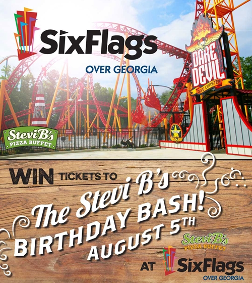 Stevi B's Celebrates 20th Birthday and Recognizes Loyal Customers with Giveaway for 700 Tickets to Six Flags