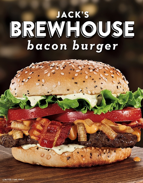 Beer Meets Burger in All-New Jack's Brewhouse Bacon Burger from Jack in the Box