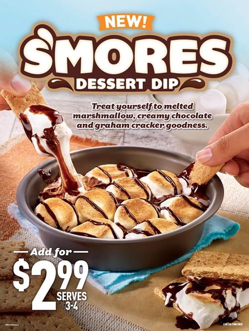 Cicis Adds Even S'mores To Its Menu