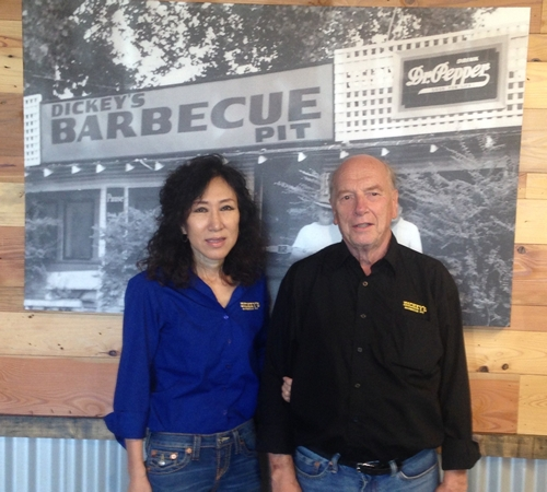 Dickey's Lights Up the Barbecue Pit in San Diego