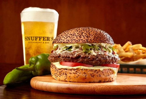 Hatch Chile Burgers & Fries Spice Up Snuffer's Menu in August