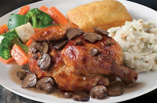 Boston Market Introduces New Hand-Crafted Rotisserie Chicken Marsala For A Limited Time Only