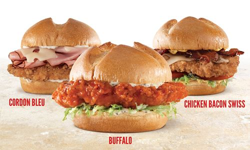 Meat-Centric Arby's Turns Its Attention to Chicken with New Buttermilk Chicken Sandwiches