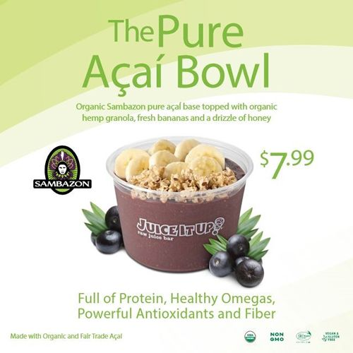 Juice It Up! Taps into Pure Açaí Bowls at California State University, Northridge