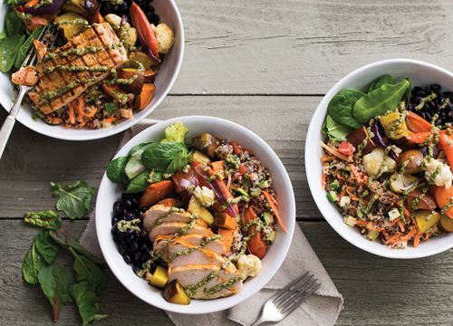 Just in Time for World Vegetarian Day on October 1, Sharky's Woodfired Mexican Grill Delivers a Bountiful Harvest with New Roasted Veggie Bowl
