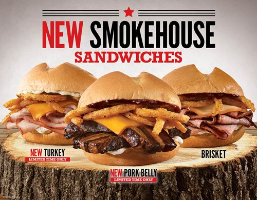 Arby's Brings Bigger, Better Bacon to the Masses with New Smokehouse Pork Belly Sandwich