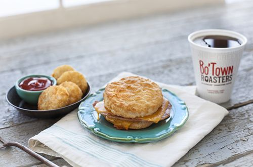 Bojangles' Introduces Cheddar Bo with Country Ham Biscuit