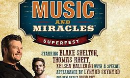 "Chicken Salad Chick Foundation Announces Country Music And ""The Voice"" Superstar Blake Shelton Will Headline Music & Miracles Superfest"
