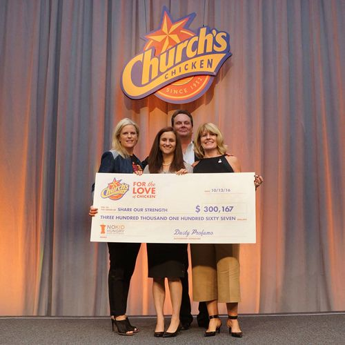 Church's Chicken Raises More than a Quarter-Million Dollars for No Kid Hungry
