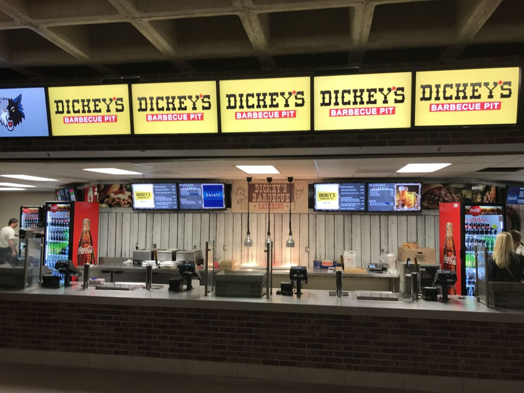 Dickey's Barbecue Pit is the Newest Basketball Sensation