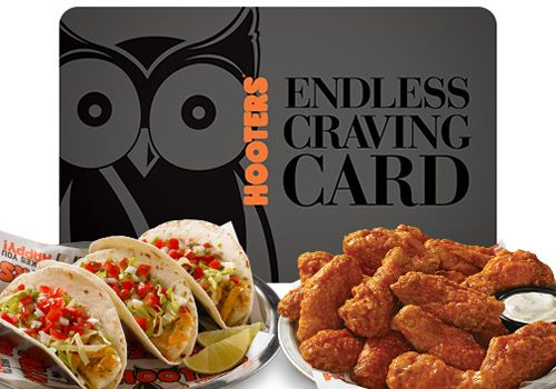 Hooters to Release Endless Craving Card on Black Friday, Cyber Monday