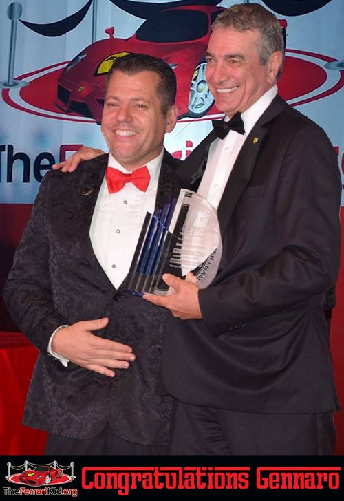 Luciano Owner Given Huge Award at The Ferrari Kid Annual Gala