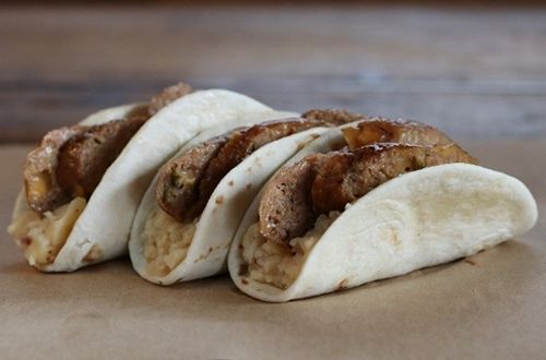 Dickey's Barbecue Pit Offers The Bangers & Mash Taco This December
