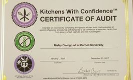Kitchens with Confidence completes Cornell University dining hall certification
