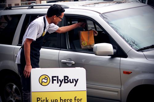 FlyBuy Technologies launches with over 50 restaurants for Curbside ToGo