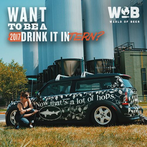World of Beer Searching for Three Interns to Travel and Drink Beer