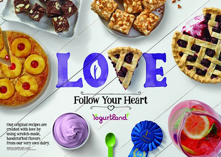 Yogurtland's Newest Hand Crafted Flavors Bring Beloved Family Recipes to Every Spoonful