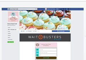 Waitbusters Digital Diner Seamlessly Integrates with Facebook Business Pages