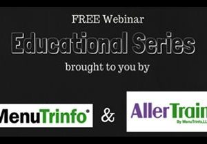 AllerTrain by MenuTrinfo Offers Free Monthly Webinars