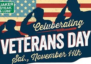 Veterans and Active Duty Military Honored at Quaker Steak & Lube on November 11