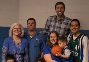 "Which Wich Superior Sandwiches ""Win A Day With Dirk"" Sweepstakes Winner Meets Dirk Nowitzki"