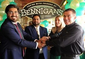 Bennigan's Signs Multi-Location Agreement To Expand Into The Islamic Republic Of Pakistan