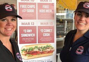 Former Business Analyst and Partner Open Erbert & Gerbert's Sandwich Shop on the Heels of International Women's Day