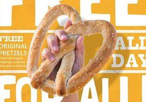 Wetzel's Pretzels Celebrates Fourth Annual National Wetzel Day