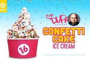 16 Handles Launches New Flavor: Duff's Confetti Cake Ice Cream