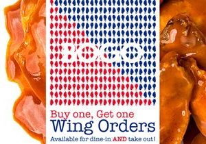 Arooga's is Giving Away Wings for National Chicken Wing Day