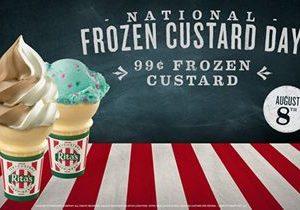 Rita's Italian Ice Celebrates National Frozen Custard Day 2018