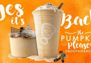 Fall's Favorite Protein-Packed Duo Returns to Juice It Up!