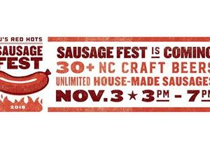 JJ's Red Hots Set for 7th Annual SausageFest, Saturday November 3