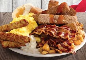 Shoney's Offers FREE All You Care To Eat, Freshly Prepared Breakfast Bar for Veterans and Active Duty Military When the Heroes' Holiday is Being Observed – Monday, November 12