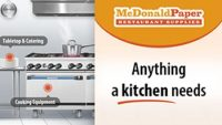 McDonald Paper & Restaurant Supplies Offering Discounts and Free Shipping to Celebrate the End of the Year