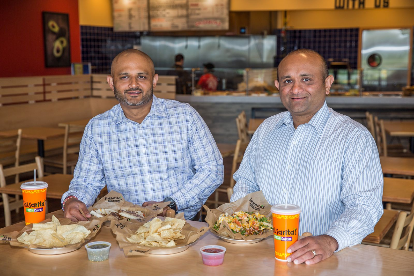 HP Patel and JT Patel will open their 11th Salsarita's Fresh Mexican Grill in Knoxville.