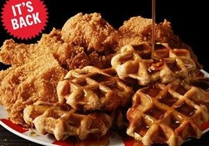 KFC Is Bringing Back Chicken & Waffles For One Month Only – Get It While You Can!