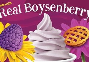 Yogurtland Swirls Up New Knott's Berry Farm Boysenberry Pie Frozen Yogurt