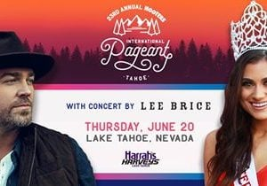 2019 Hooters International Pageant Featuring Lee Brice To Be Held on Thursday, June 20 at Lake Tahoe Outdoor Arena at Harveys