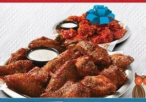 This Father's Day Give Dad 10 Free Boneless Wings with the Purchase of Any 10 Wings at Hooters