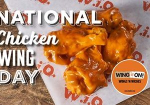 National Chicken Wing Day Deals from Wing It On!