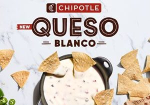 Chipotle Tests New Queso Blanco In Three Markets