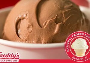Freddy's Announces Fourth Annual Kids in Need Partnership for National Frozen Custard Day