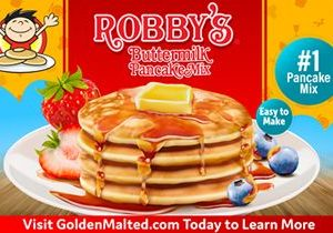 Wow Your Customers with Robby's Pancakes – Exclusively from Golden Malted