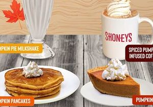 Shoney's Celebrates the Undisputed Flavor of Fall with its Annual Pumpkin Fest