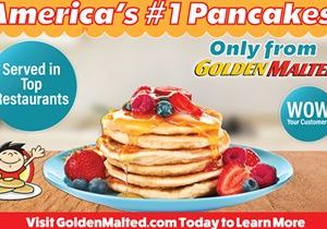 Add America's #1 Pancakes to Your Menu with Golden Malted